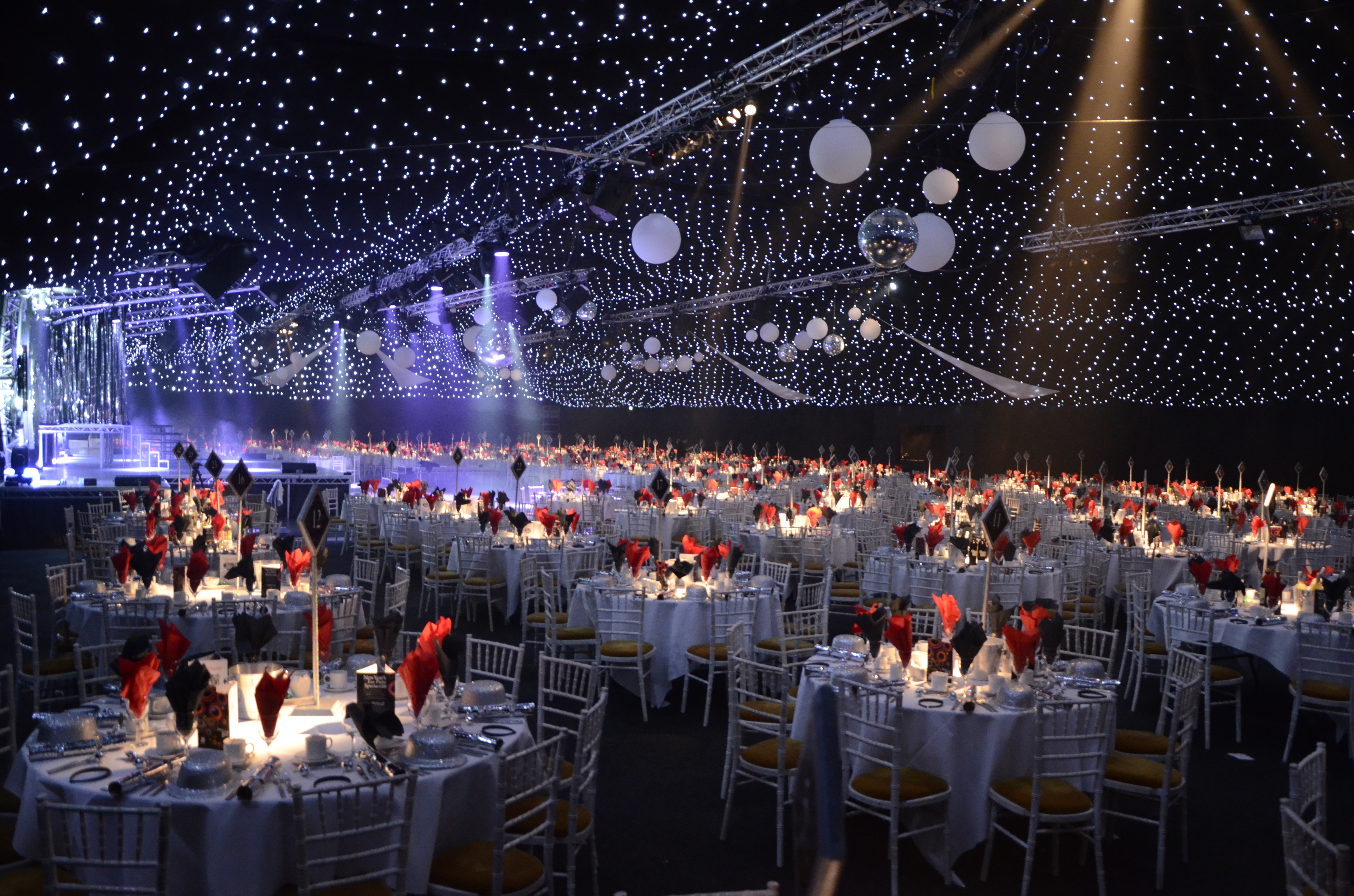 Beautiful Christmas Party Ideas Birmingham Part - 6: Christmas Decorations For Large Venues : Christmas Party Venues Liverpool  Manchester Birmingham