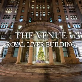 Christmas parties at The Venue at the Royal Liver Building Liverpool
