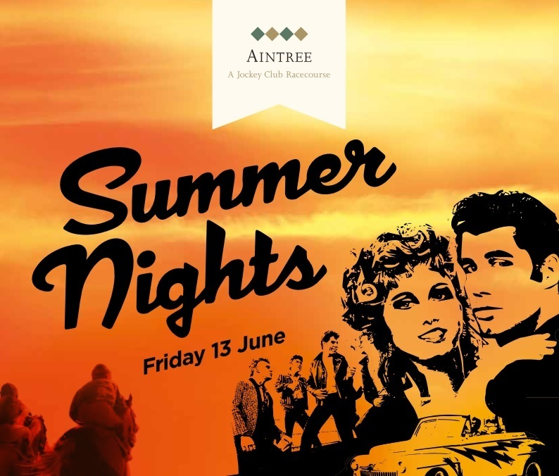 Oh, Those Summer Nights... At Aintree Racecourse