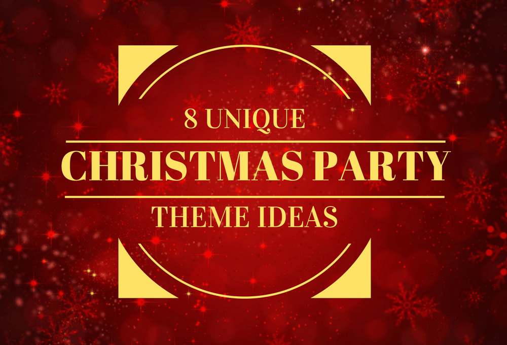 8 Unique Christmas Party Theme Ideas | JD Parties