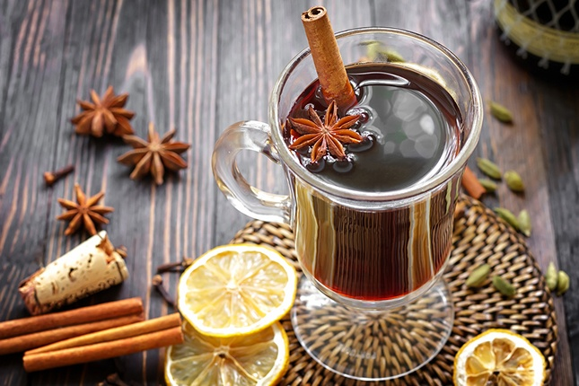 Mulled wine is the perfect way to turn an open bottle of red wine into ...