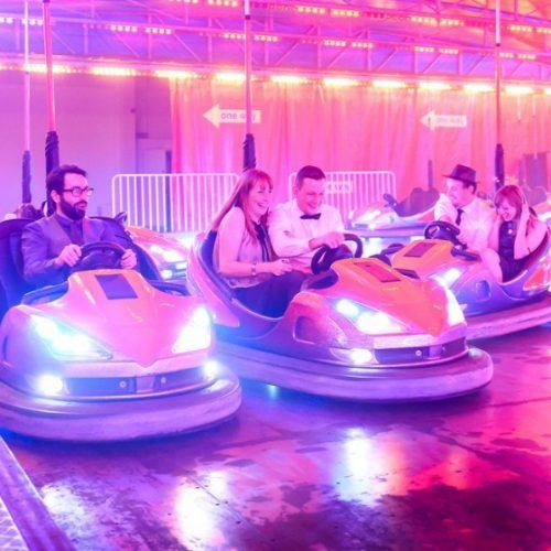 Dodgems R Us! We can't wait to take a spin on these this weekend!