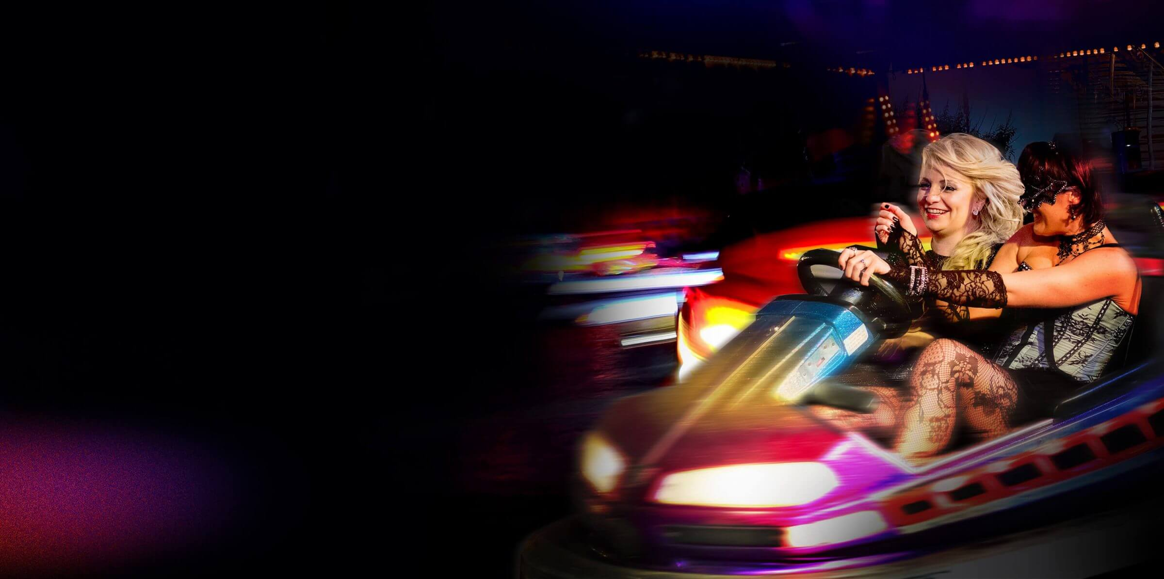 Dodgems at Christmas Party